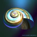 Bioluminescent snail by GeaAusten