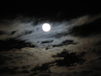 Blue Moon... clouds