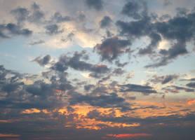 Sky last night North Devon by GeaAusten
