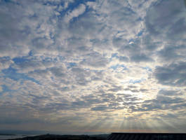 Clouds over North Devon at Dawn by GeaAusten