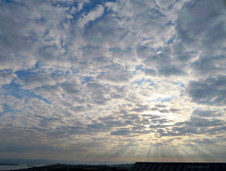 Clouds over North Devon at Dawn