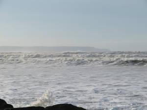 palest blue sea