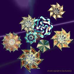 alternating swirls