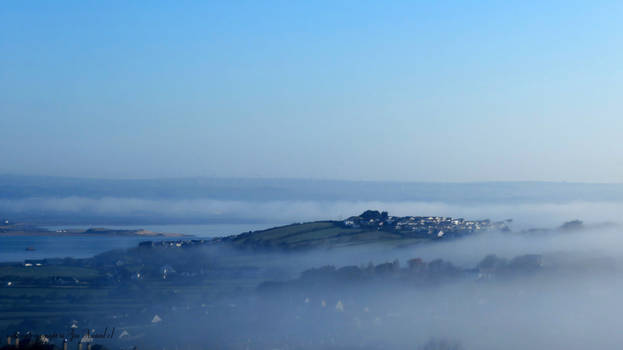 The mist that drifts away at dawn