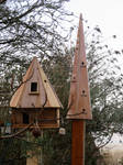 Bird Houses by Kali