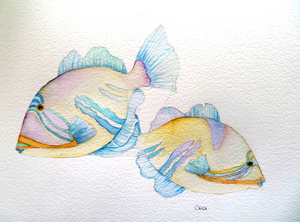 Pretty Picasso Fish for Pisces New Moon