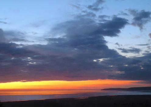 Sky at Dusk ... Torridge estuary 14.6.20