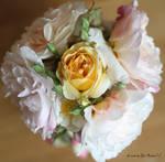 Old Roses in a vase