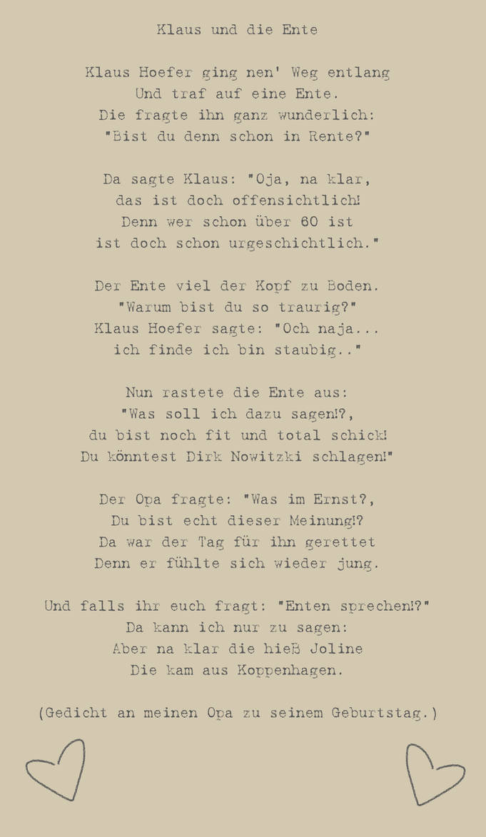 Fabulous Gedicht an meinen Opa by Momueki on DeviantArt &ZA41