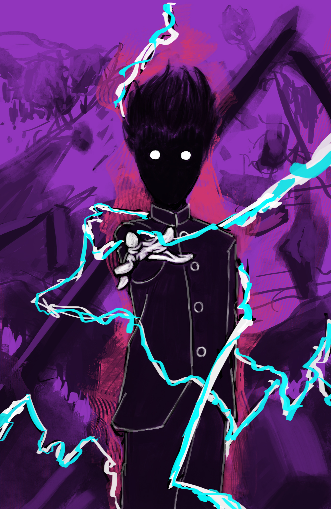 Mob psycho 100(F.V) by Fr1ezE on DeviantArt