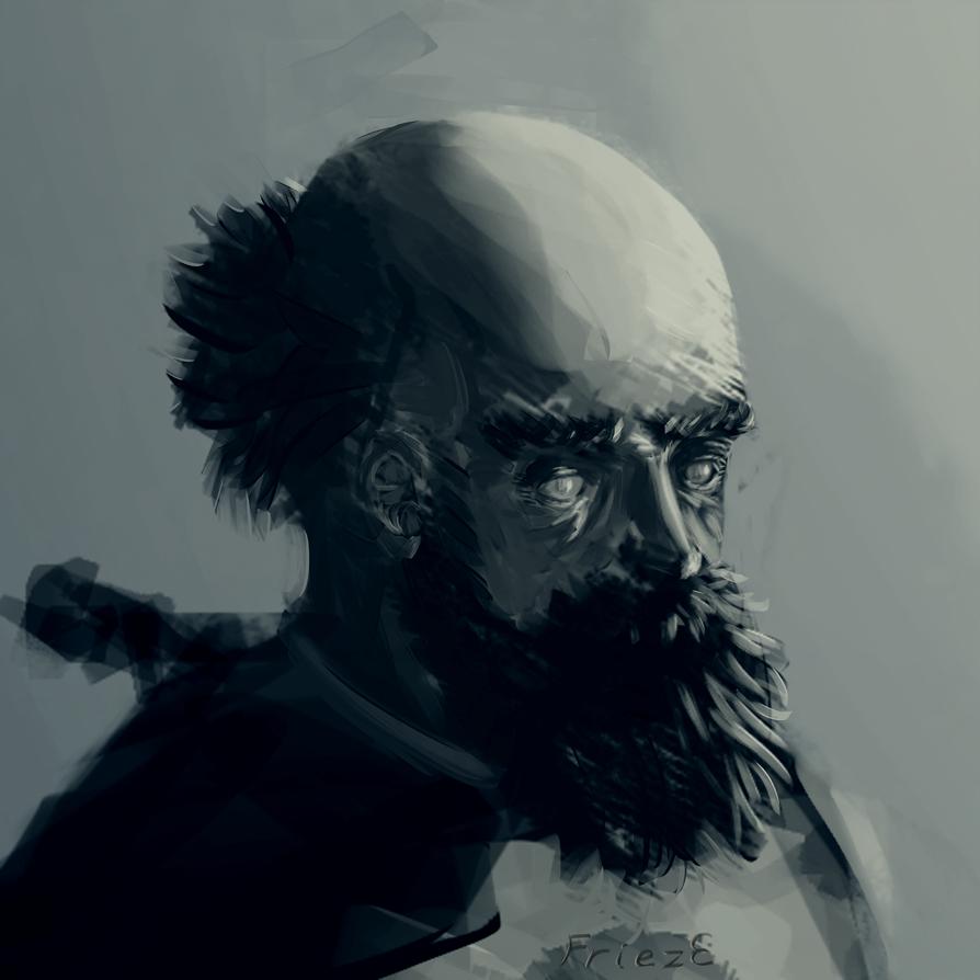 portrait_1 by Fr1ezE