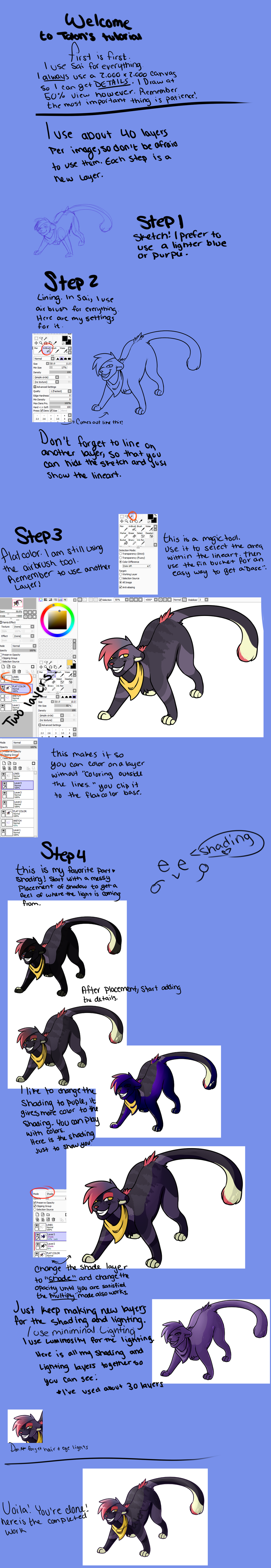 Talon's Complete Tutorial (except for backgrounds) by TalonEX