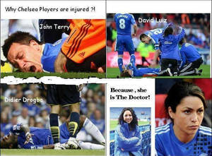 The reason of Chelsea injuries !!