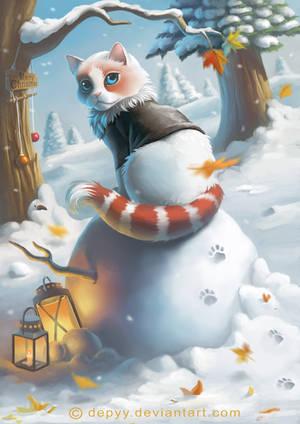 snowcat by ntdespoina