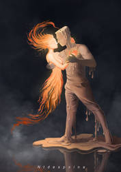 dancing with the fire