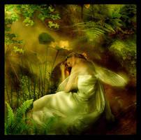 Sleeping fairy by Lillucyka