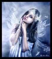 Winter fairy by Lillucyka