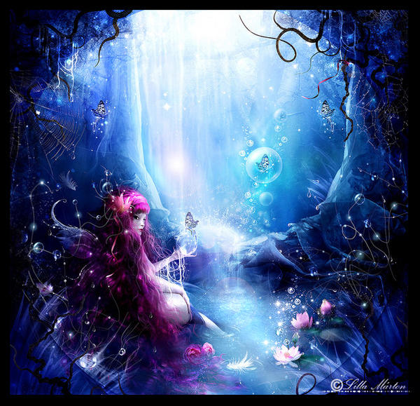 water fairy wallpaper beautiful - photo #18