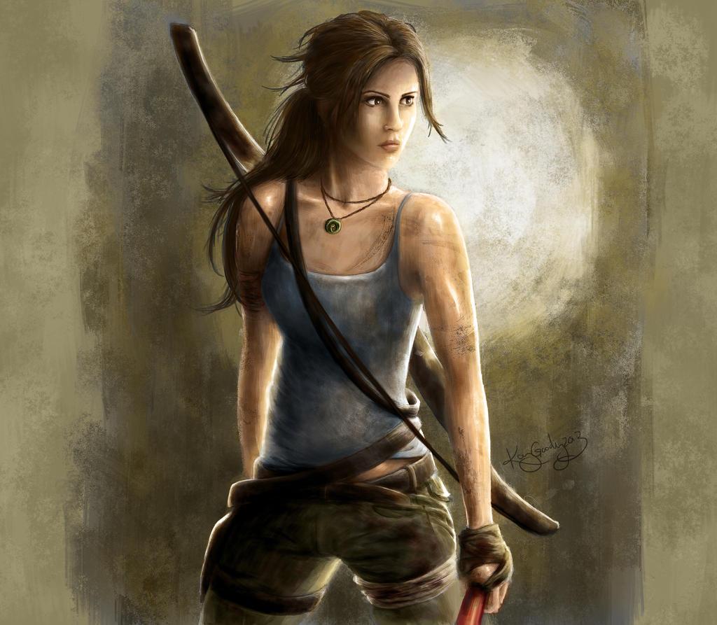 Lara Croft by KayGoody