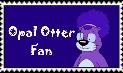Opal Otter Fan Stamp by Sagwanut