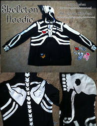 Tyshea's Skeleton Hoodie by MinorTechnicality