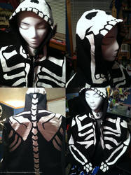 Tyshea's Skeleton Hoodie 2 by MinorTechnicality