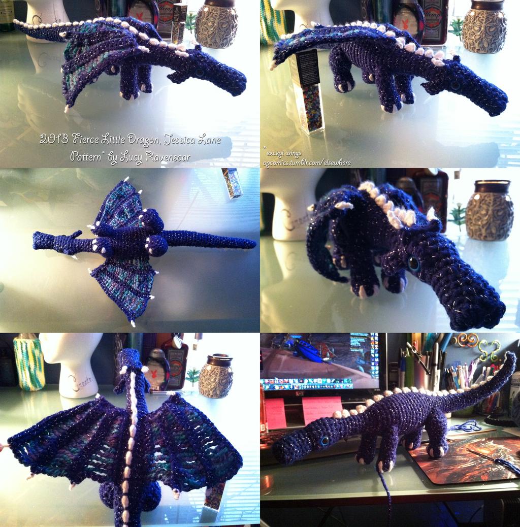 Fierce Little Dragon Amigurumi Pattern : Amigurumi Fierce Little Dragon 1 by MinorTechnicality on ...
