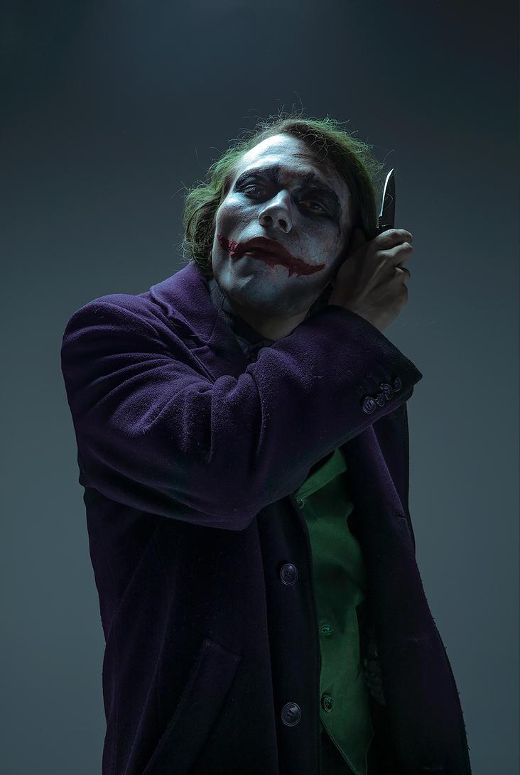The Dark Knight : Joker by Akunohako