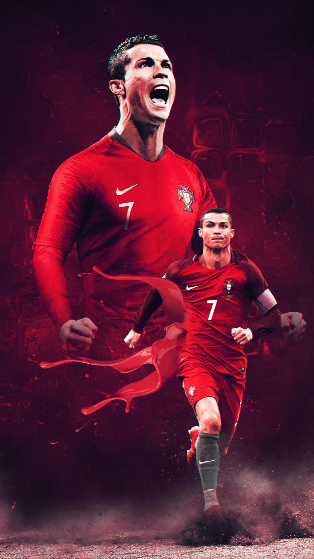 Cristiano Ronaldo - HD Wallpaper by Achu17 on DeviantArt