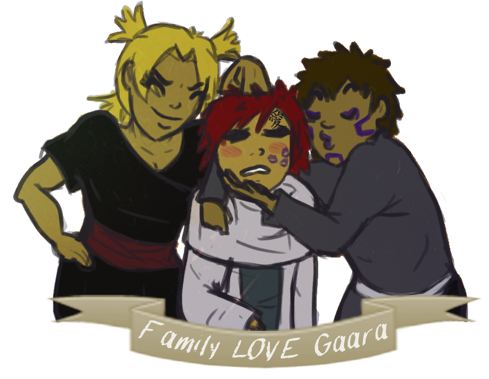 family LOVE gaara by kage-kunoichi