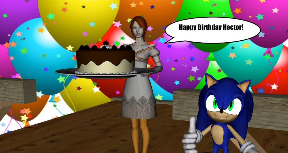 Happy Birthday HectorNY by TheBlackNova