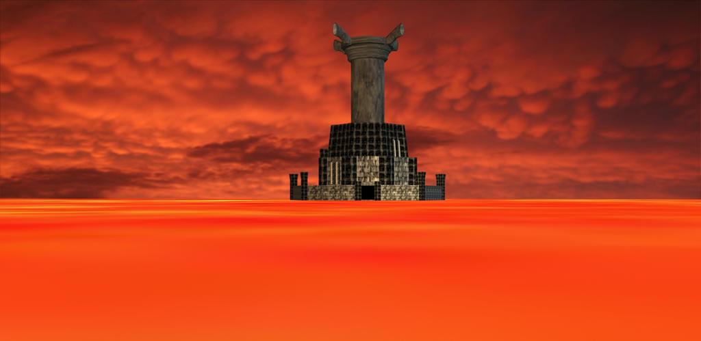 Ganon's Tower (My version) by TheBlackNova