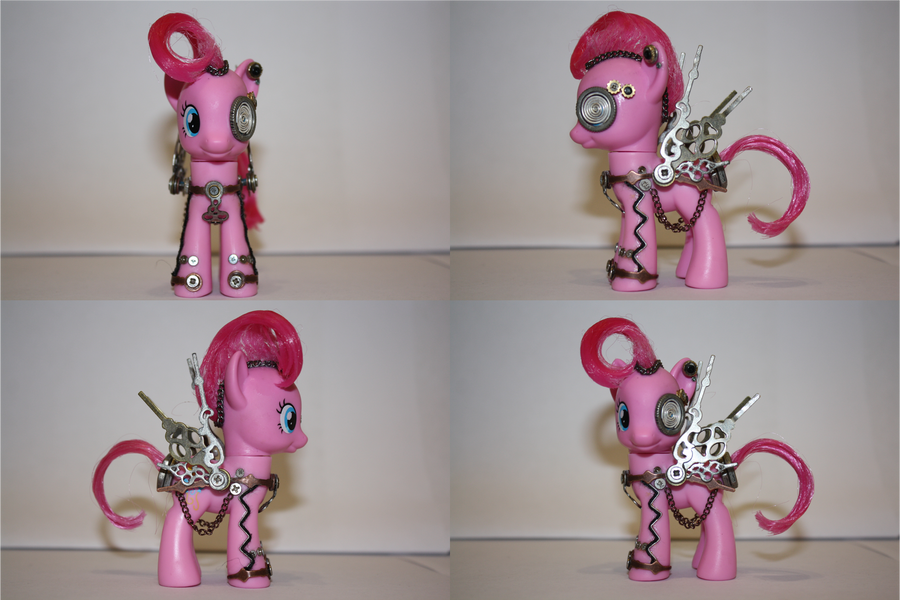 Steampunk Pinkie Pie by TheCheeseburger