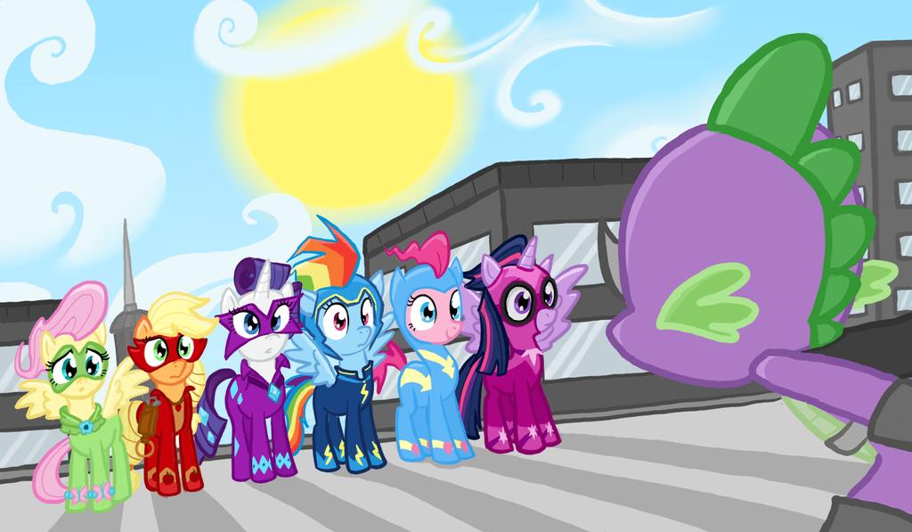 MLP Season 4 Spoilers: Power Ponies by TheCheeseburger