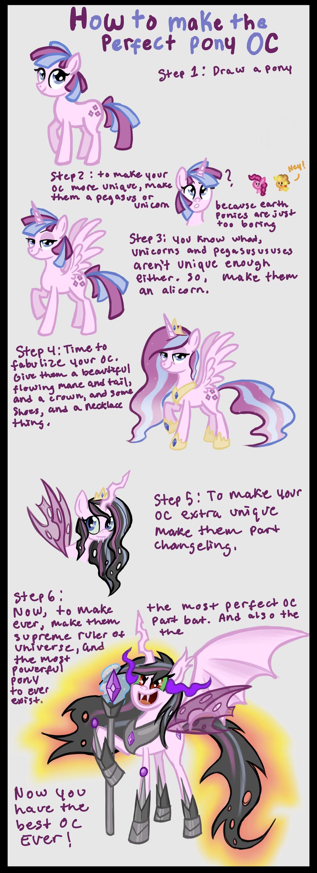 How to make a pony 53