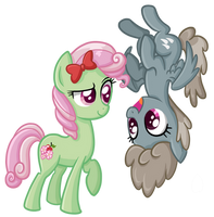 Florina and Dust Devil by TheCheeseburger
