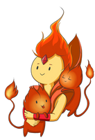 Flame Prince by TheCheeseburger