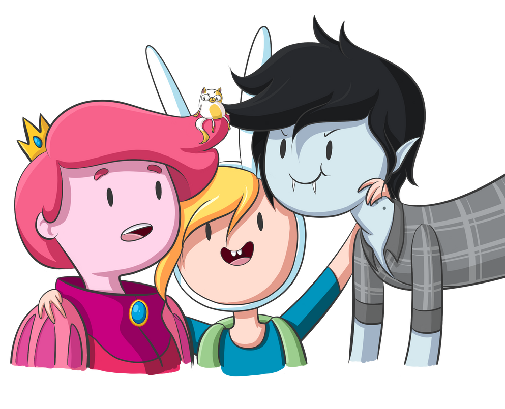 Gumball, Fionna, Marshall Lee.....and Cake By