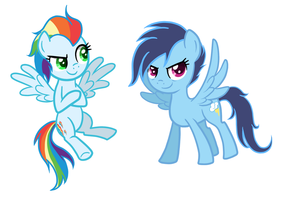 If Rainbow Dash and Soarin had Kids by TheCheeseburger on ...