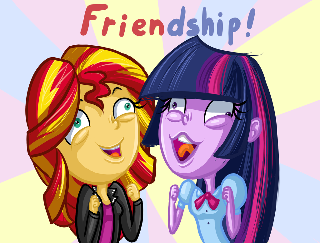 Friendship by TheCheeseburger