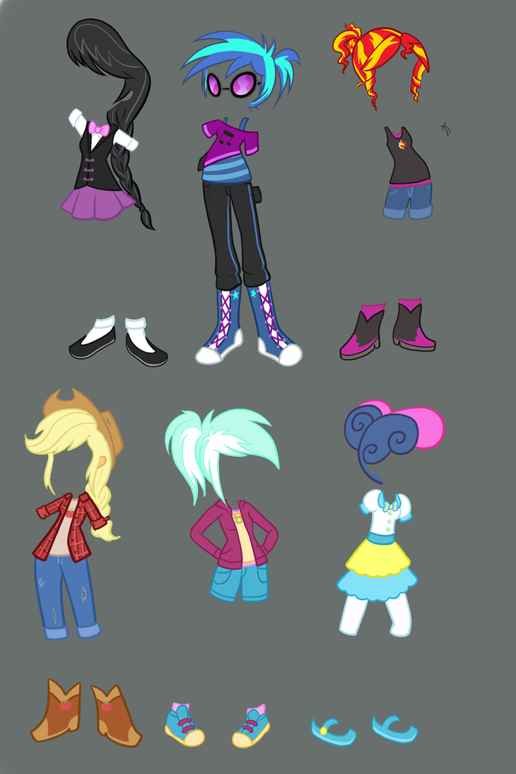 Equestria Girls Outfit Ideas by TheCheeseburger on DeviantArt
