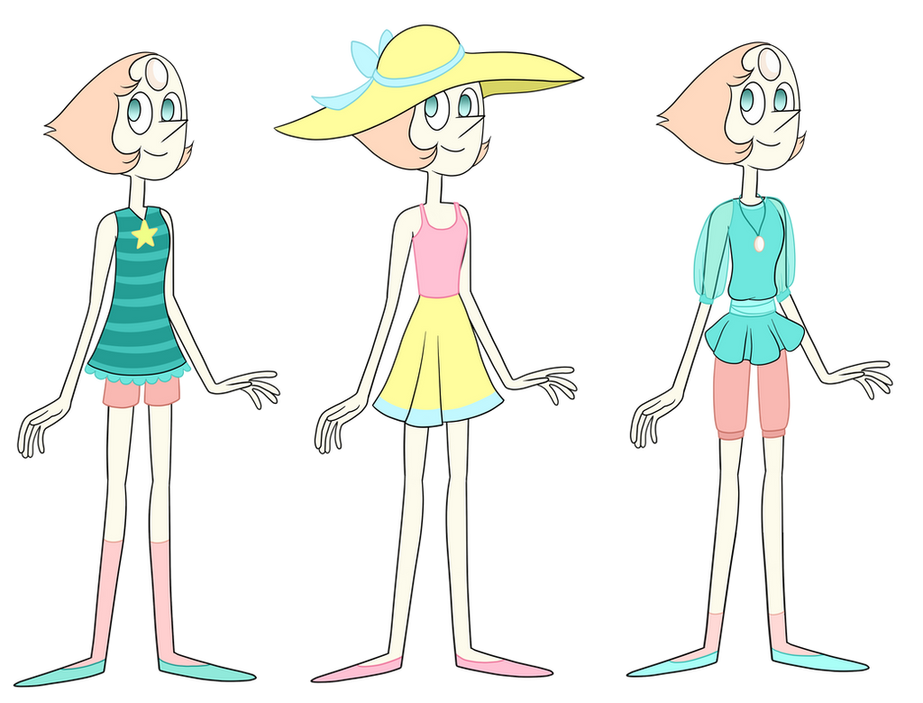 Pearl Outfits By TheCheeseburger On DeviantArt