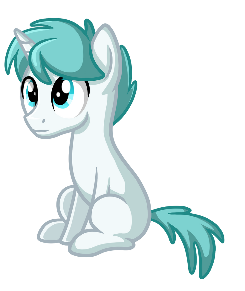 Changeling Pony Form by TheCheeseburger