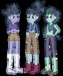 Equestria Girls: McColts Triplets