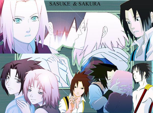 DeviantArt: More Like Sasuke y sakura by natumashinaja