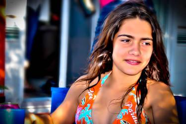 Girl Swim by ClaudiusM