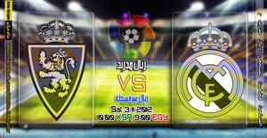 Real Madried Vs Real Zaragoza