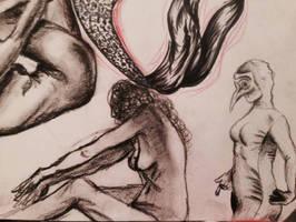 Figure Drawings by Mochiangelo
