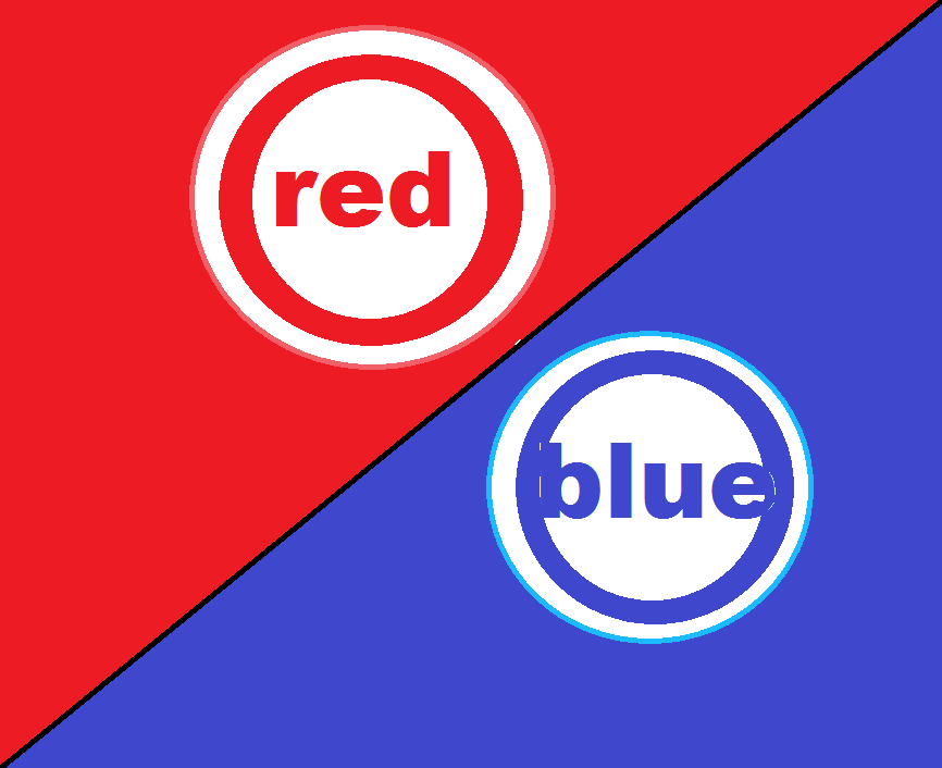 Red vs blue dress roblox
