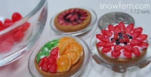 miniature tarts